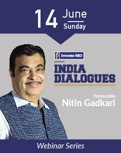 India Dialogues : Building world-class Infrastructure & MSMEs Role for overseas investors & NRIs with Honourable Minister Nitin Gadkari