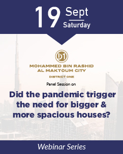 Did the pandemic trigger the need for bigger & more spacious houses?