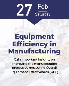 Equipment Efficiency in Manufacturing